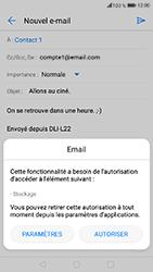 Honor 6A - E-mails - Envoyer un e-mail - Étape 13