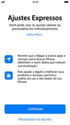 Apple iPhone 8 - Primeiros passos - Como ativar seu aparelho - Etapa 21
