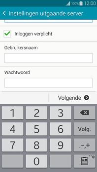 Samsung N910F Galaxy Note 4 - E-mail - e-mail instellen: IMAP (aanbevolen) - Stap 14