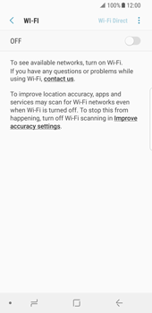 Samsung Galaxy S8 - Android Oreo - Wi-Fi - Connect to Wi-Fi network - Step 6
