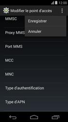 Acer Liquid E600 - Internet - configuration manuelle - Étape 17