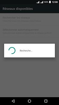 Acer Liquid Zest 4G Plus Double SIM - Réseau - Sélection manuelle du réseau - Étape 8