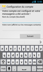 Acer Liquid Glow E330 - E-mail - Configuration manuelle - Étape 14
