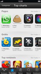 Apple iPhone iOS 6 - Aplicativos - Como baixar aplicativos - Etapa 6
