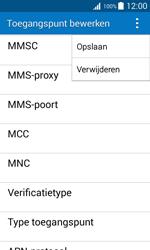 Samsung Galaxy J1 (J100H) - Internet - Handmatig instellen - Stap 16