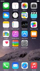 Apple iPhone 6 iOS 8 - MMS - afbeeldingen verzenden - Stap 1