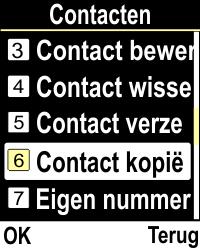Emporia CLICKplus 3G (Model V32-3G) - Contacten en data - Contacten kopiëren van toestel naar SIM - Stap 4