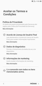 Samsung J4+ - Primeiros passos - Como ativar seu aparelho - Etapa 8