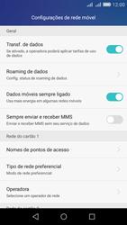 Huawei Y6 - Rede móvel - Como ativar e desativar uma rede de dados - Etapa 4