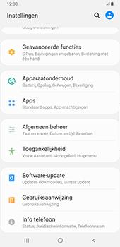 Samsung Galaxy S8+ - Android Pie (SM-G955F) - Software updaten - Update installeren - Stap 4