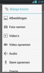 LG P700 Optimus L7 - E-mail - e-mail versturen - Stap 9