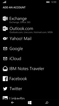 Microsoft Lumia 640 XL - Email - Manual configuration - Step 6