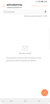 Samsung Galaxy Note9 - E-mail - Configuration manuelle (outlook) - Étape 12
