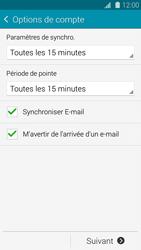 Samsung G901F Galaxy S5 4G+ - E-mail - Configuration manuelle - Étape 16