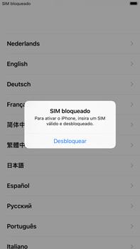 Apple iPhone 7 Plus iOS 11 - Primeiros passos - Como ligar o telemóvel pela primeira vez -  4