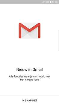 Samsung Galaxy S7 Edge - Android Oreo - E-mail - handmatig instellen (gmail) - Stap 5