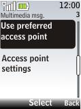 Nokia 2720 fold - MMS - Manual configuration - Step 9
