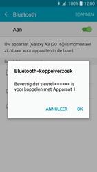 Samsung Galaxy A3 2016 (SM-A310F) - Bluetooth - Headset, carkit verbinding - Stap 7