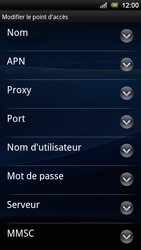 Sony Ericsson Xperia Ray - Internet - configuration manuelle - Étape 10