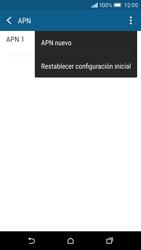 HTC One M9 - Internet - Configurar Internet - Paso 8