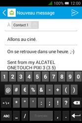 """Alcatel Pixi 3 - 3.5"""" - E-mail - envoyer un e-mail - Étape 9"""
