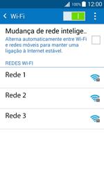 Samsung Galaxy J1 - Wi-Fi - Como ligar a uma rede Wi-Fi -  6