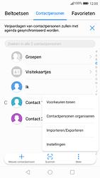 Huawei P9 - Android Nougat - Contactgegevens overzetten - delen via Bluetooth - Stap 4