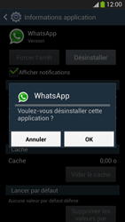 Samsung Galaxy S4 - Applications - Supprimer une application - Étape 8