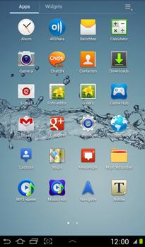 Samsung P3100 Galaxy Tab 2 7-0 - Internet - Handmatig instellen - Stap 2