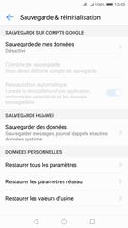 Huawei Nova 2 - Device maintenance - Retour aux réglages usine - Étape 7