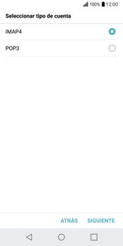 LG Q6 - E-mail - Configurar correo electrónico - Paso 9