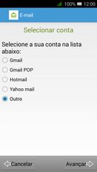 Alcatel Pixi 3 - Email - Configurar a conta de Email -  9