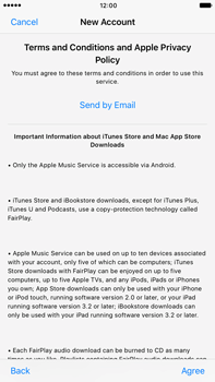 Apple Apple iPhone 6s Plus iOS 10 - Applications - Create an account - Step 10