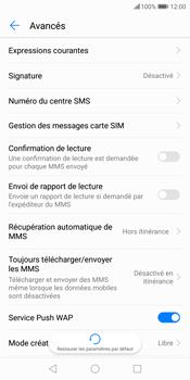 Huawei P Smart - SMS - configuration manuelle - Étape 8