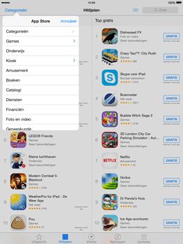 Apple The New iPad iOS 8 - Applicaties - Downloaden - Stap 6