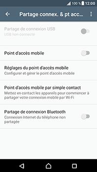 Sony Xperia XA1 Ultra - Internet et connexion - Utiliser le mode modem par USB - Étape 6