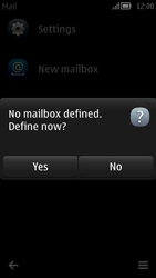 Nokia 808 PureView - E-mail - Manual configuration - Step 4