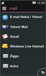 Nokia Asha 311 - E-mail - Configuration manuelle - Étape 6