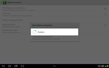 Samsung N8000 Galaxy Note 10-1 - Bellen - in het buitenland - Stap 7