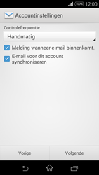 Sony D2203 Xperia E3 - E-mail - Handmatig instellen - Stap 16