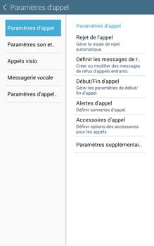 Samsung T335 Galaxy Tab 4 8-0 - Messagerie vocale - Configuration manuelle - Étape 6