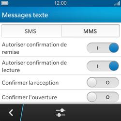 BlackBerry Q5 - MMS - configuration manuelle - Étape 8