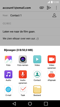 LG Stylus 2 (K520) - E-mail - Bericht met attachment versturen - Stap 11
