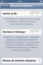 Apple iPhone 4 - iOS 6 - Internet - configuration manuelle - Étape 7