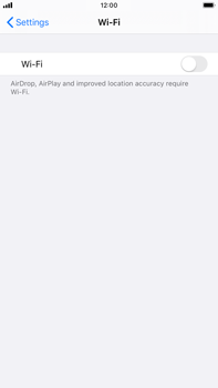 Apple iPhone 7 Plus - iOS 13 - Wi-Fi - Connect to a Wi-Fi network - Step 4