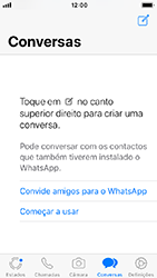 Apple iPhone SE - iOS 12 - Aplicações - Como configurar o WhatsApp -  16