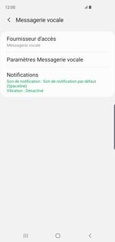 Samsung Galaxy S10 - Messagerie vocale - configuration manuelle - Étape 10