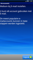 Sony Ericsson Xperia X10 - E-mail - Handmatig instellen - Stap 5