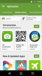 Sony Xperia Z3 Plus - Aplicações - Como pesquisar e instalar aplicações -  5