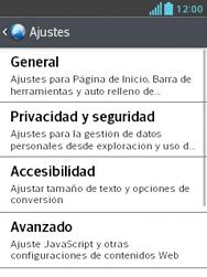 LG Optimus L3 II - Internet - Configurar Internet - Paso 21